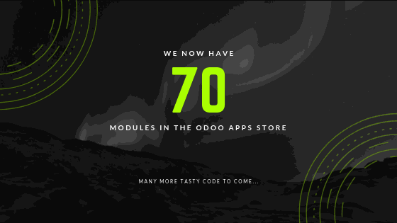 70 Modules in the Odoo Apps Store | CierTech